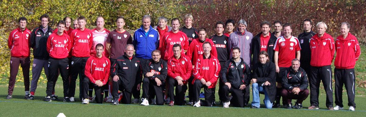 VfB Stuttgart - Teilnehmer Seminar Koordination Fussball