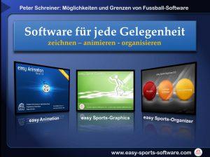 Fussballsoftware für jeden Zweck