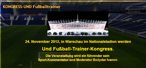 Soccer Training Congress - Peter Schreiner in Poland