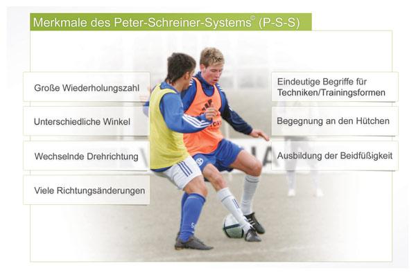 Peter Schreiner System Merkmale