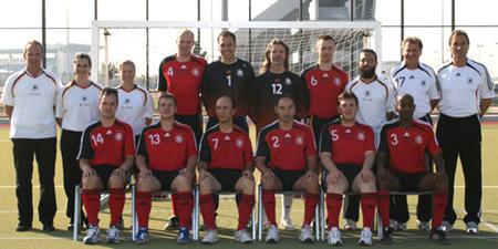 Peter Schreiner - Teamchef der Fußball Blinden-Nationalmannschaft bei der EM 2007