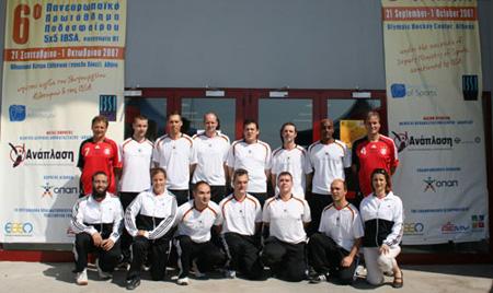 Fußball Blinden-Nationalmannschaft Deutschland bei der EM 2007