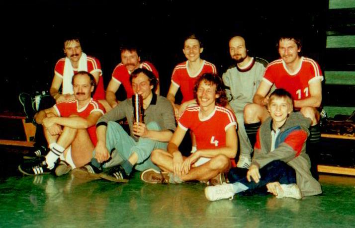 Lehrerfussball Gustav-Heinemann-Gesamtschule Stadtmeister 1989