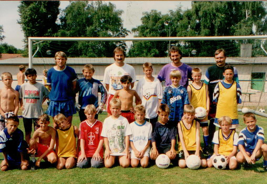 Fussballschule Schalke 04 - Gasttrainer Peter Neururer