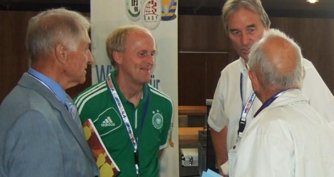 Fussball Trainer im Gespräch: Ralf Peter Heinz Werner und Peter Schreiner