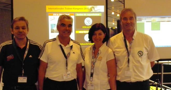 ITK 2010 - Dr. Gerd Thissen (BDFL), Frank Engel, (DFB), Dr. Marion Becker-Richter (easy Sports-Software), Peter Schreiner (Institut für Jugendfußball)