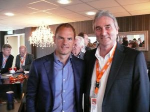 Frank de Boer and Peter Schreiner