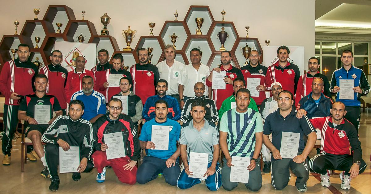 30 Teilnehmer erhielten ein Zertifikat am Ende des 5-tägigen Seminars