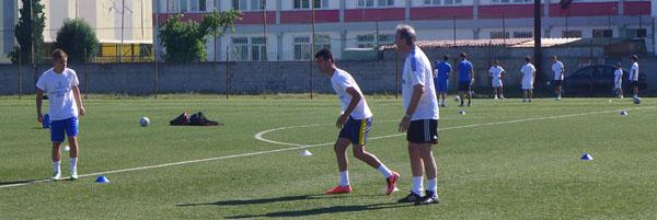 Fußballtraining - Passtraining und Coaching