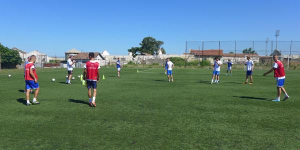 Fußballtraining 3-Zonen-Spiel