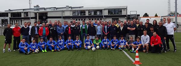 2. Internationalen Trainerkongress in Ostbelgien - Teilnehmer, Organisationsteam und Steven Turek und Peter Schreiner